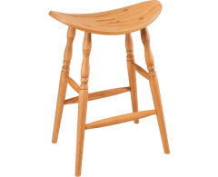 Cowboy 24 High Stationary Barstool Image