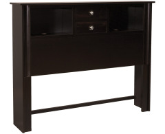 Cosmopolitan Queen 2-Drawer Bookcase Headboard Image