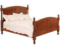 Classic Queen Post Bed w/Standard Height Footboard Image