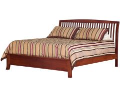 Holmes King Bed with Low Footboard Image