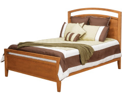 Nouveau Queen Bed w/ Low Footboard Image