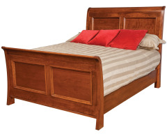 Classic Queen Sleigh Bed w/Standard Footboard Image