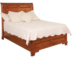Classic Queen Sleigh Bed w/Low Footboard Image