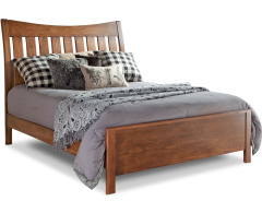 Bedfort Queen Bed w/ Low Footboard Image