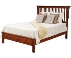 Lewiston Queen Slat Bed w/Low Footboard Image