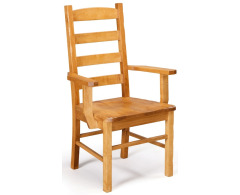 Ladder Back Arm Chair Image