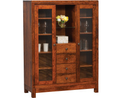 Kingsdale 4-Drawer China Cabinet Image