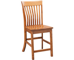 Lawrence Lumbar 24 High Counter Height Side Chair Image