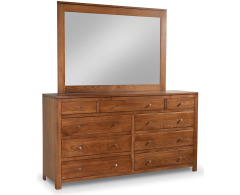 Modern 8-Drawer Double Dresser Image