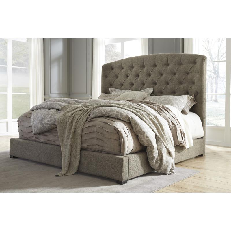 Furniture Beds Queen Uph Footboard W Rails B657 78 76 Q256 Jpg