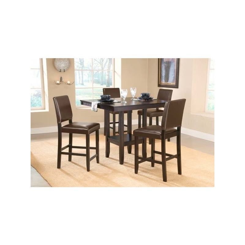 e0281a72d9f Arcadia 5pc Counter Height Set w Parsons Stools